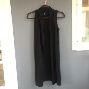 Flurette • super soft long cardigan style vest